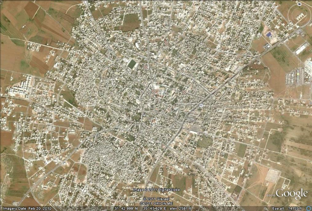 Madaba without photo locations
